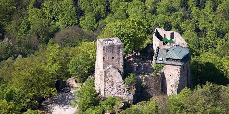 Burg Alt-Eberstein;  Foto: Staatliche Schlösser und Gärten Baden-Württemberg, Achim Mende