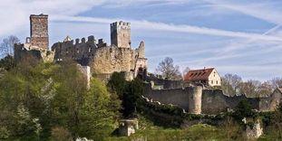 Château-fort de Rothelin, vue aérienne