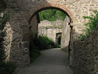 Tor des Alten Schlosses Hohenbaden