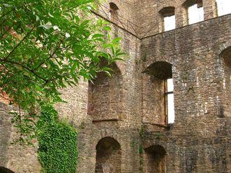 Innenansicht des Bernhardsbaus des Alten Schlosses Hohenbaden