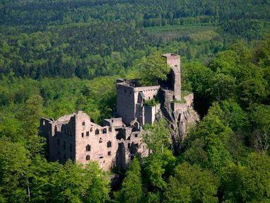 Altes Schloss Hohenbaden von außen