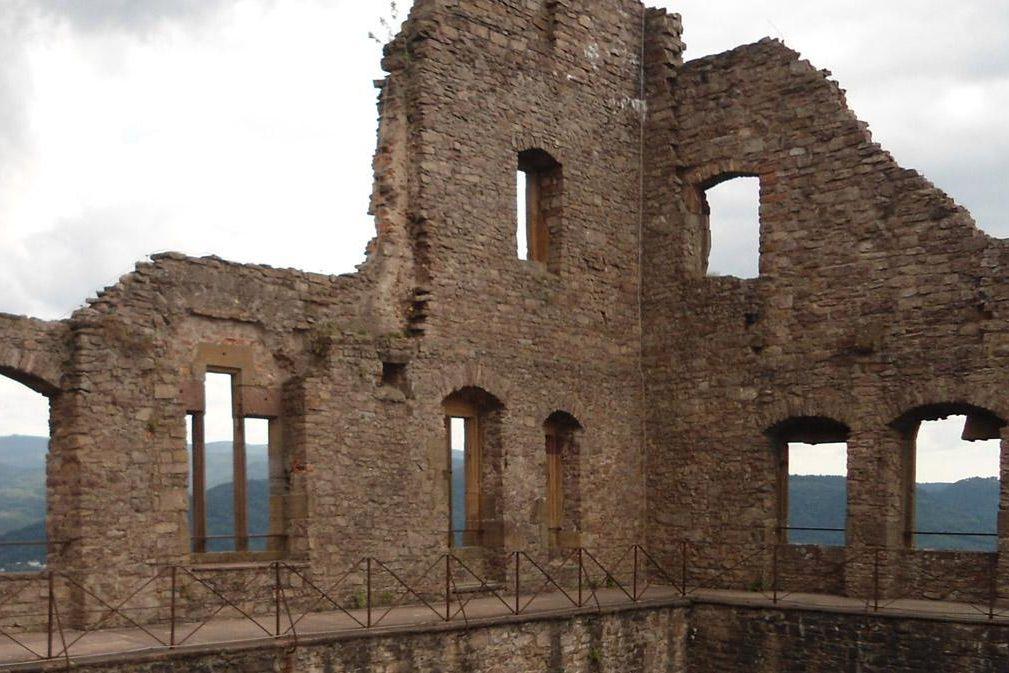 Bernhardsbau des Alten Schlosses Hohenbaden