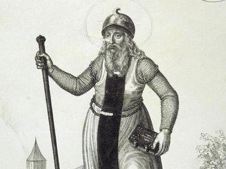 Bildnis von Hermann I., Lithographie um 1820