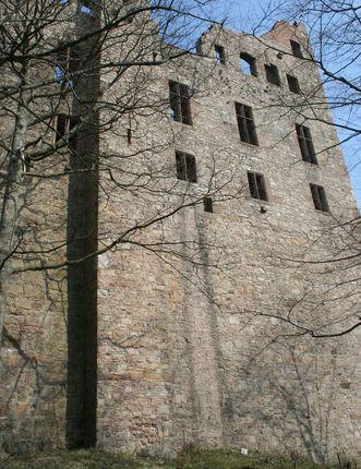 Der Abortschacht des Alten Schlosses Hohenbaden