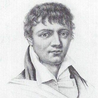 Porträt von Max von Schenkendorf, 1818