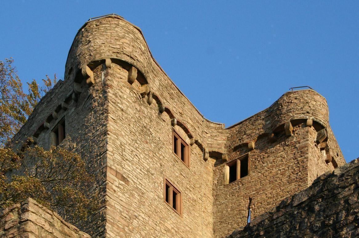 Hermannsbau des Alten Schlosses Hohenbaden
