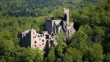 Hohenbaden Old Castle; photo: Staatliche Schlösser und Gärten Baden-Württemberg, Achim Mende